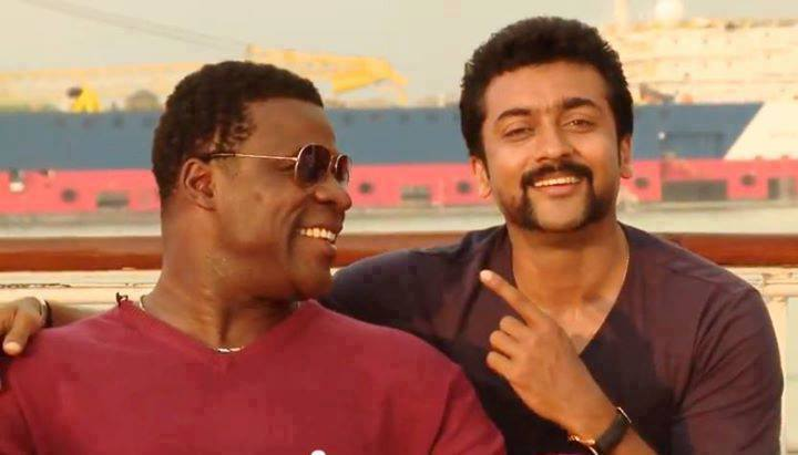 Danny with Surya