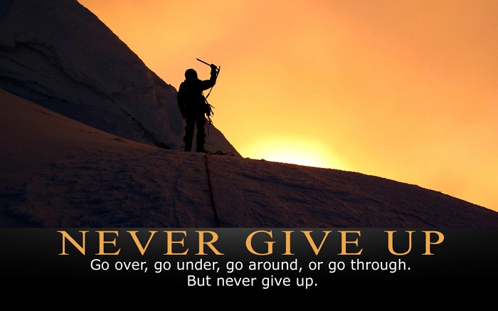 motivation-never giveup