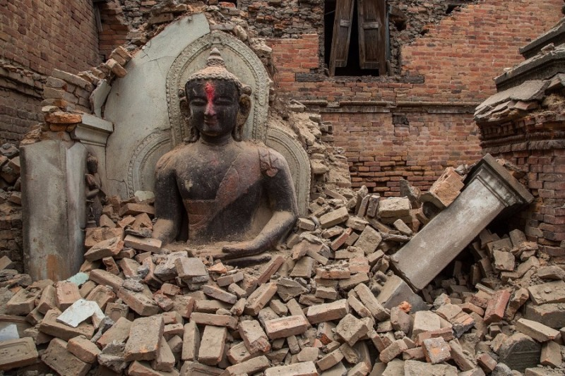 Budda - Nepal Earth Quake