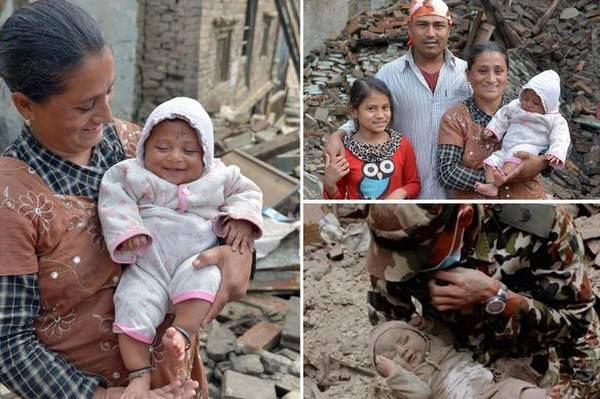 Nepal Earth quake  - Kid