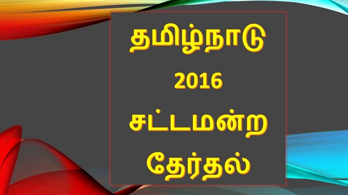 Tamilnadu Election 2016
