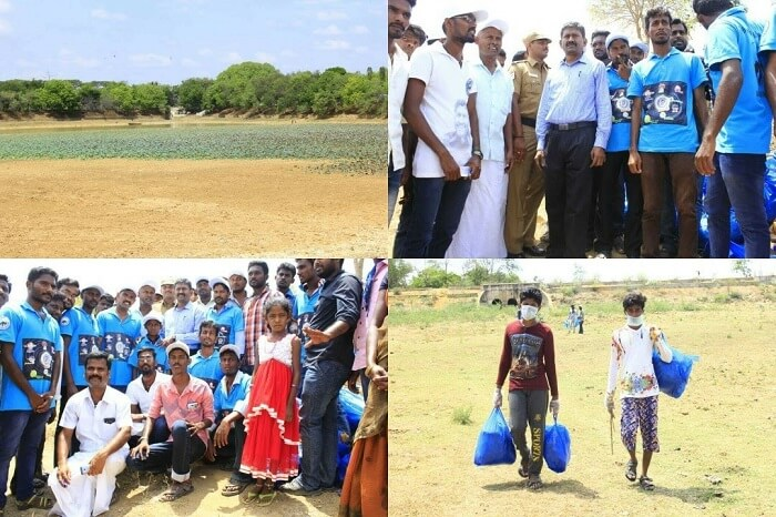 Lake Cleanup in Tamilnadu