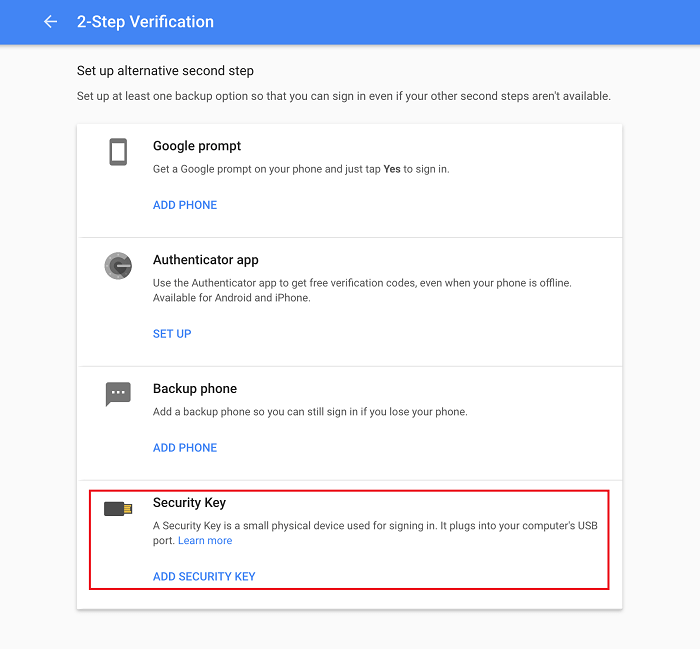 Google-add-security-key